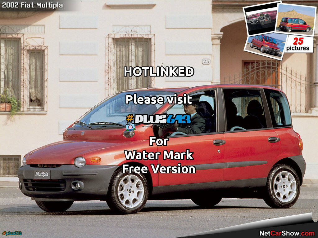 The sexy, sexy Fiat Multipla