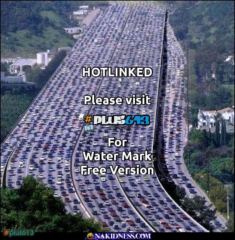and i thought traffic was bad here