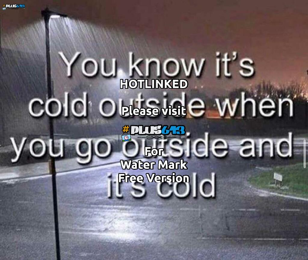 how to tell its cold