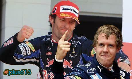 Mark Webber responds after Vettel cheats to win Malaysian Grand Prix