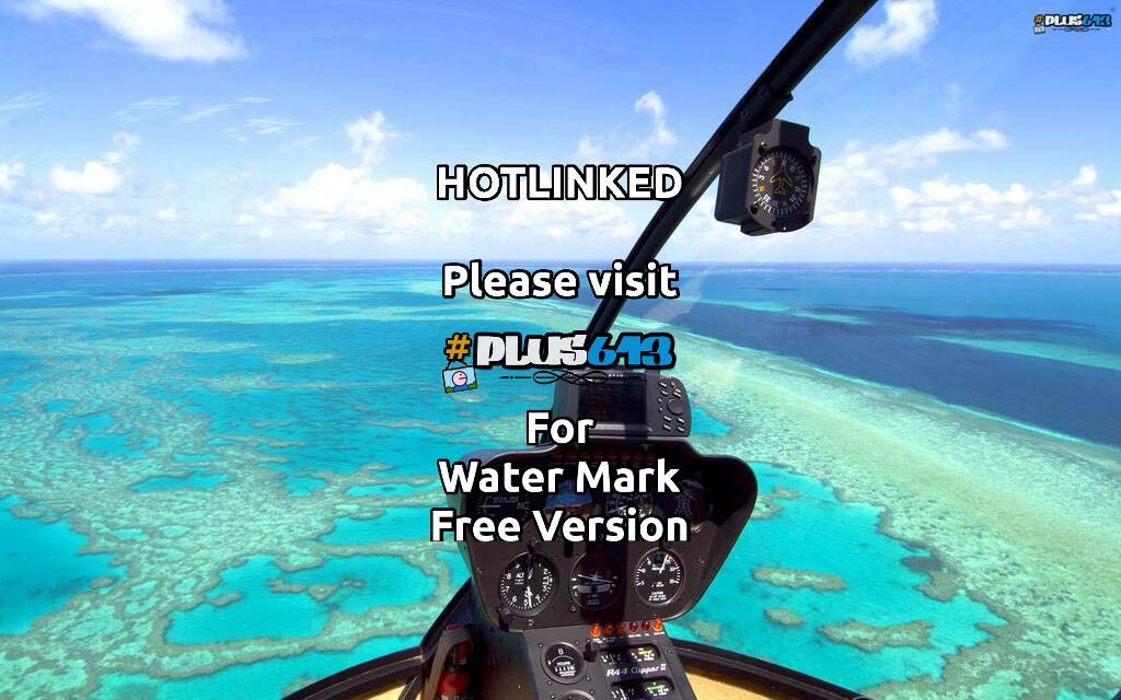 Great Barrier Reef by helicopter