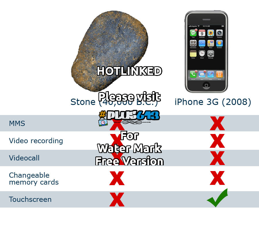 stone vs iphone