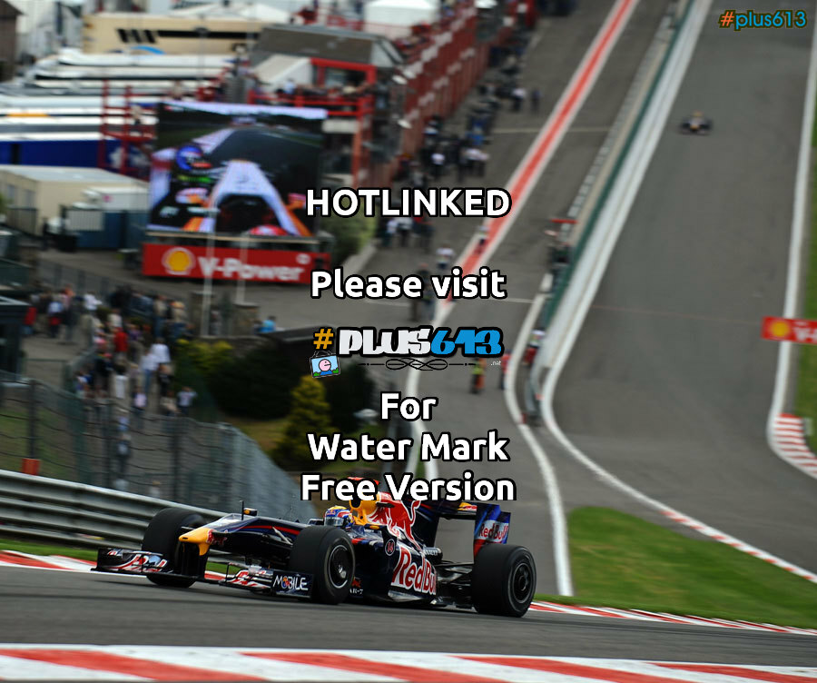 Red Bull F1 car at Spa, Belgium