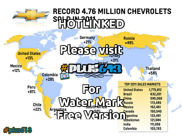 Record Chev sales 2011