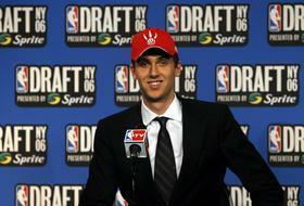 NBA: 1 overall pick Andrea Bargnani of the Toronto Raptors