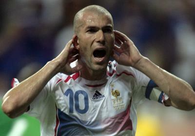 French power Zinedine Zidane