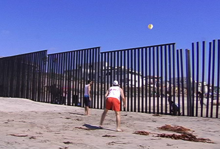 US Border Fence Volleyball