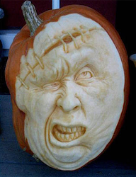 Shopped Carved Pumpkin