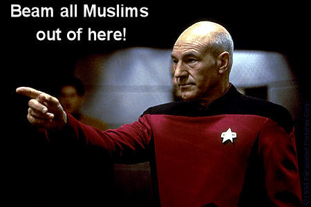 There aren't any Muslims on Star Trek