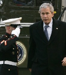 Bush: 'I'm the Decision-Maker' on Iraq