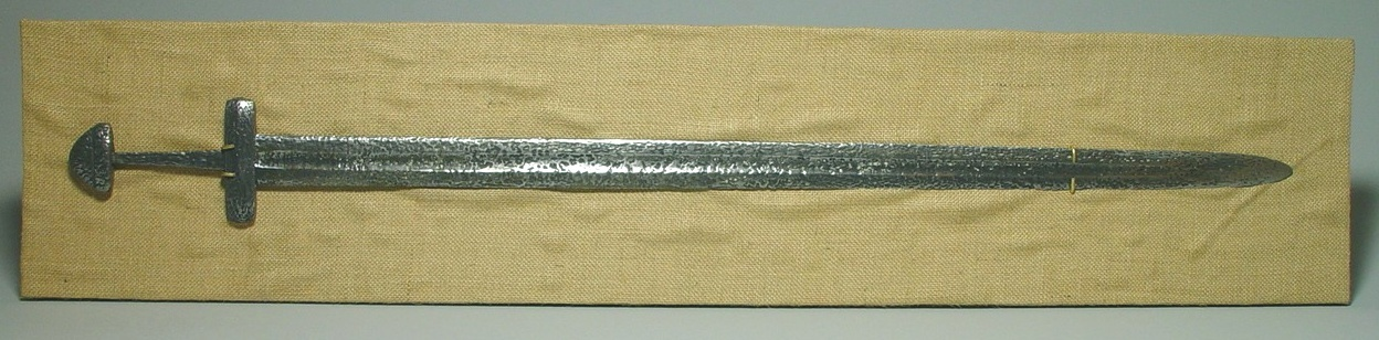 Viking Patterned Sword from the Lower Volga 800 AD