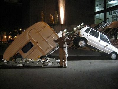 car crash..