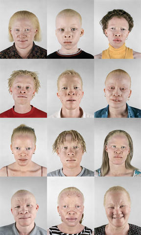 The original Egyptians - in Albino form.