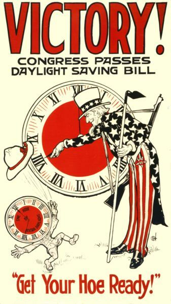 Daylight Savings? Did we vote for that?