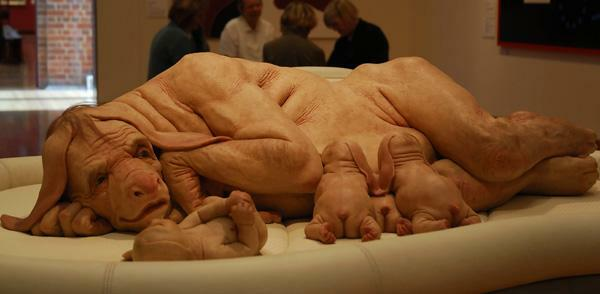 The Young Family by Patricia Piccinini