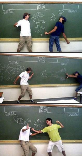 Blackboard Fighter!