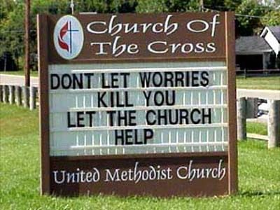 let the church help