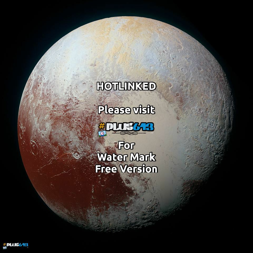 Pluto - in colour