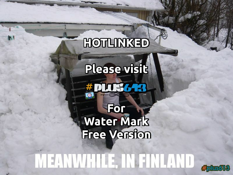 Meanwhile, in Finland..