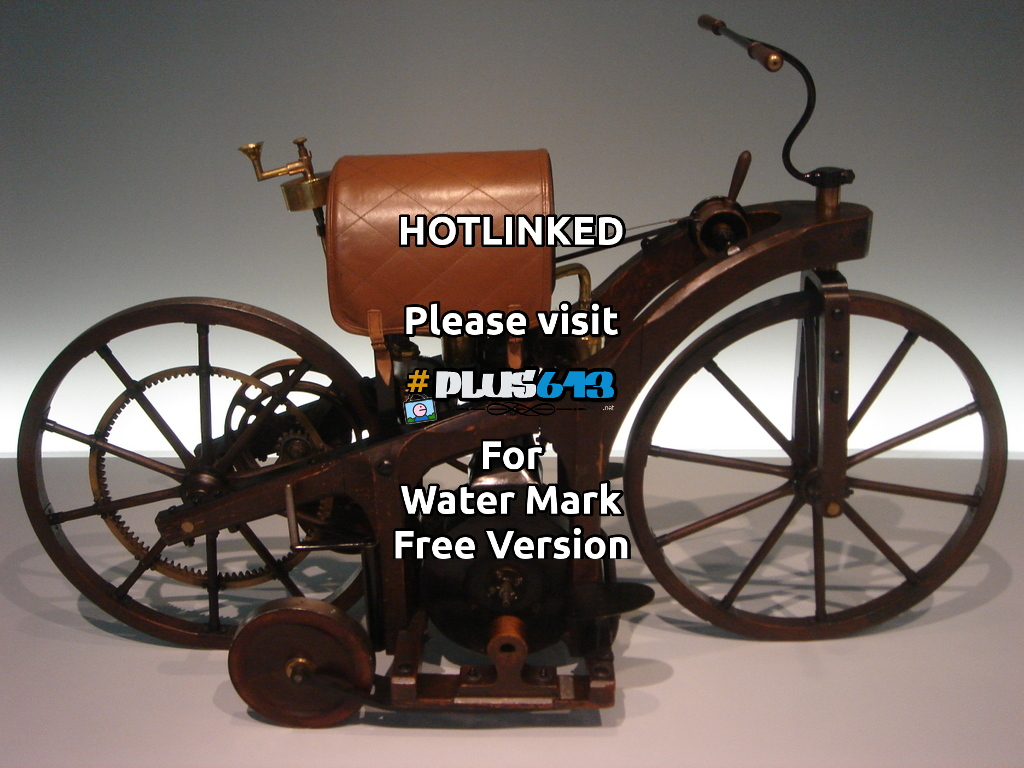 1st motorized bike