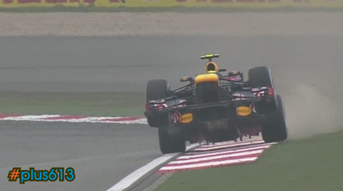 Mark Webber finds Red Bull gives him wings. Again. China, 2012