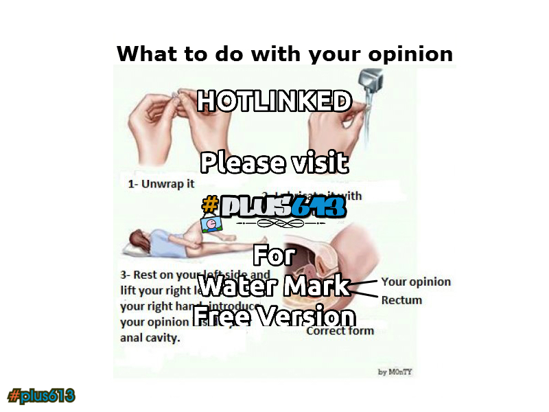 what to do with your opinion