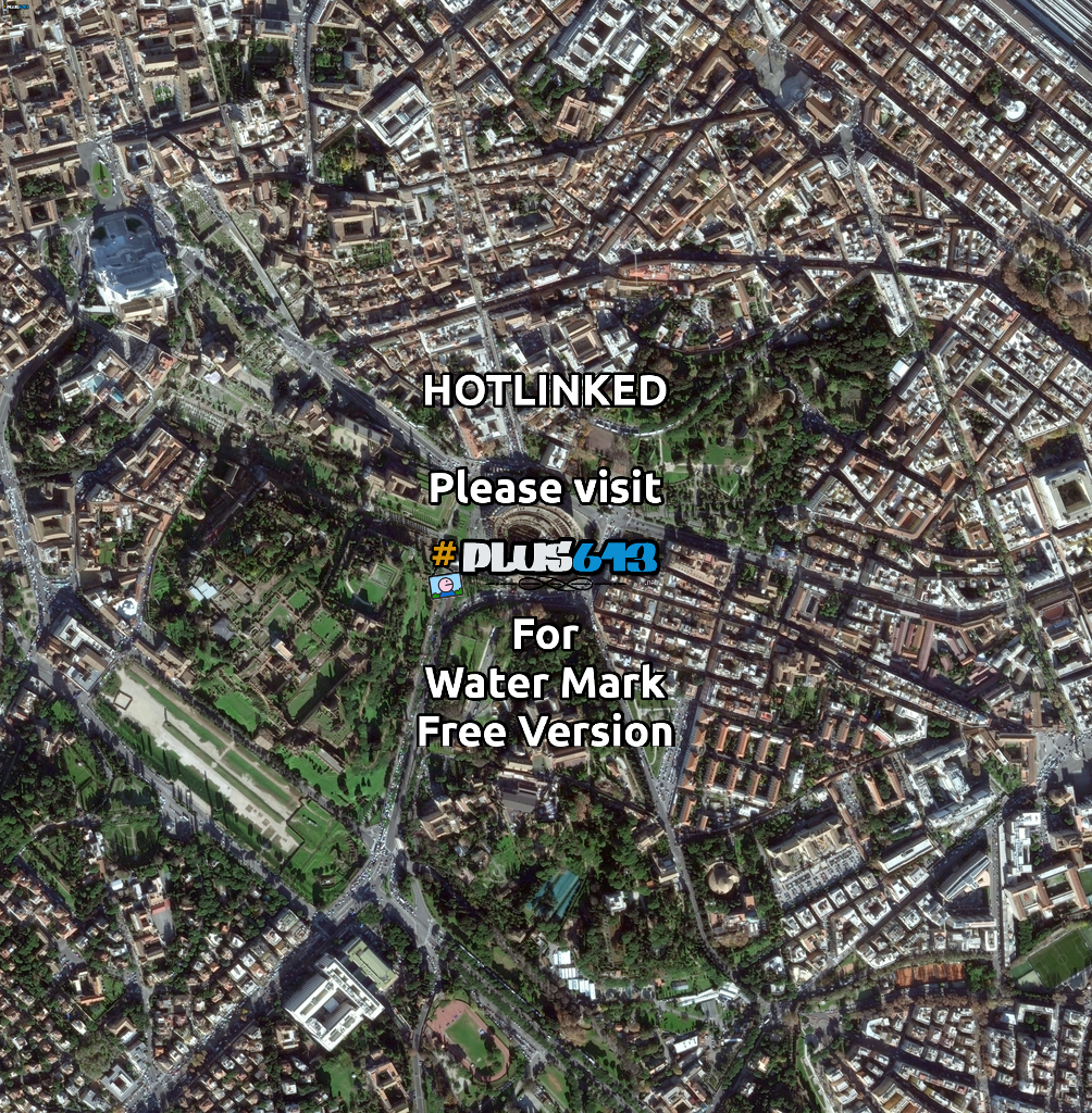 Rome satellite image