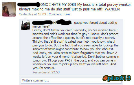 Why you shouldn't add your boss on Facebook