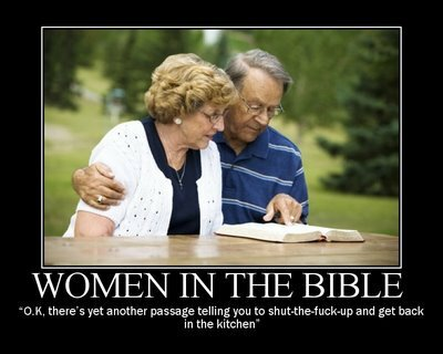 Bible studies... bitch