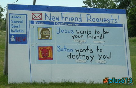 Jesus wants to be your friend